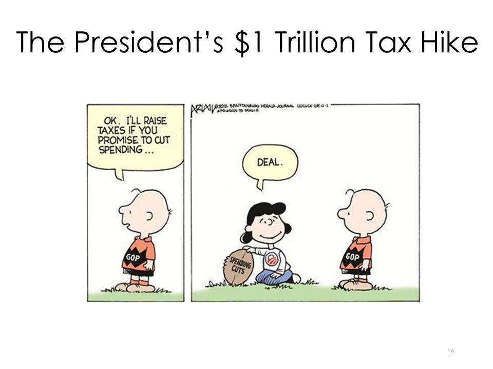 The President's $1 Trillion Tax Hike 19