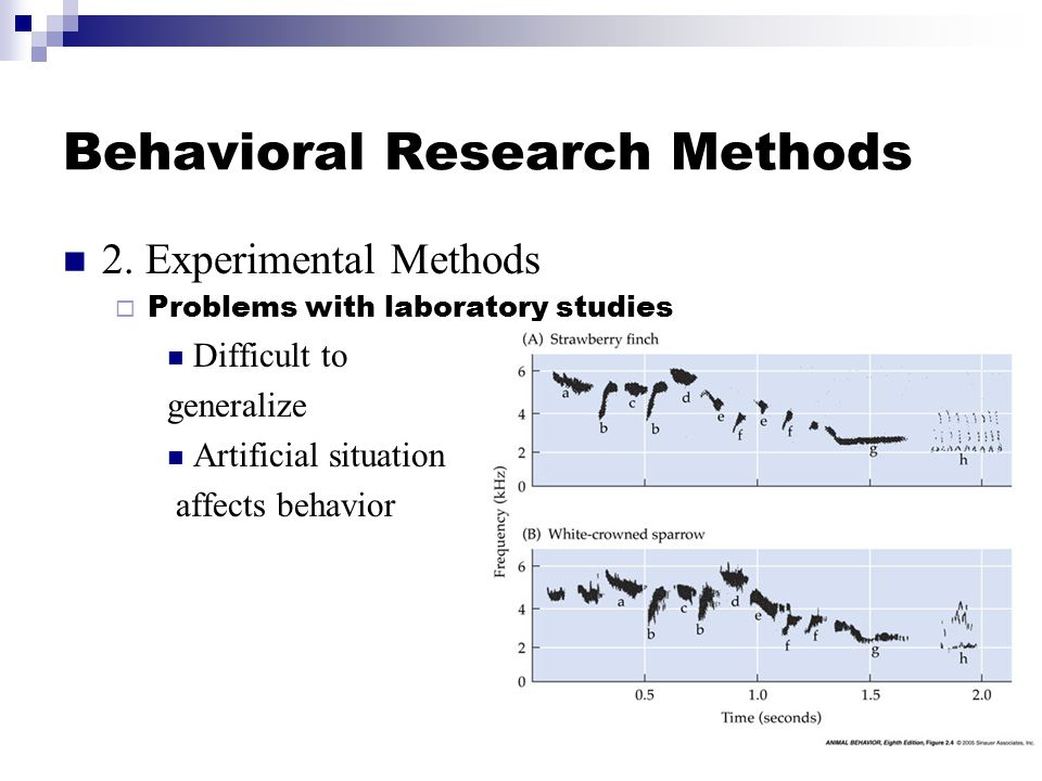 Behavioral Research Methods 2.