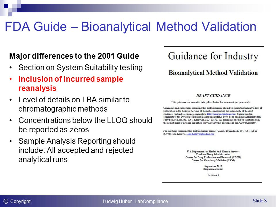 Integrated Method Development and Validation Dr  Ludwig Huber RACI