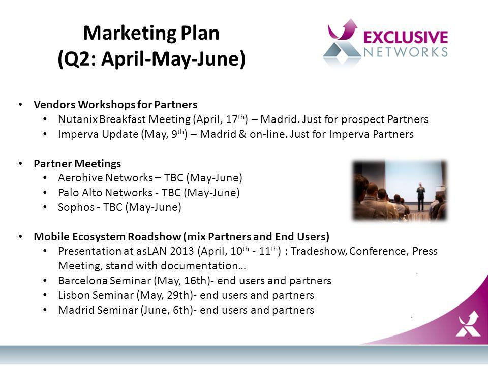 Exclusive Networks Iberia Q1-Q2  Workshops for Partners (VIP) UTM