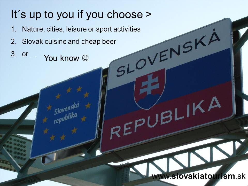 It´s up to you if you choose > 1. Nature, cities, leisure or sport activities 2.