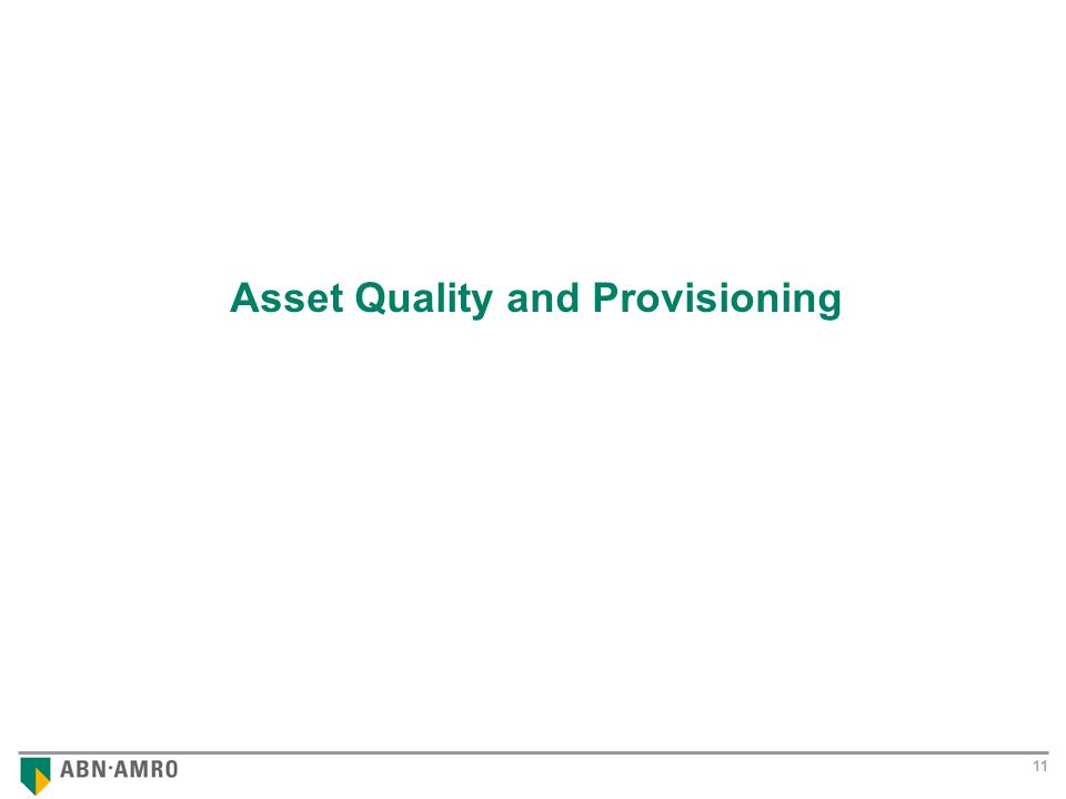 Results 2001 11 Asset Quality and Provisioning