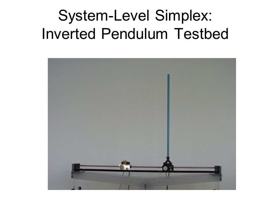 System-Level Simplex: Inverted Pendulum Testbed