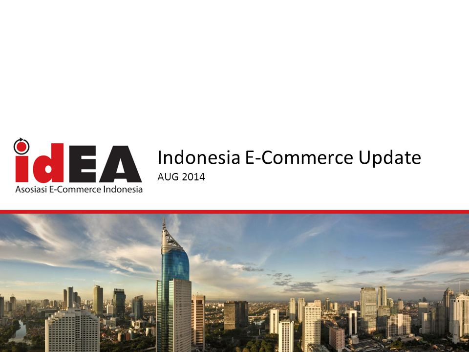 Indonesia E-Commerce Update AUG 2014