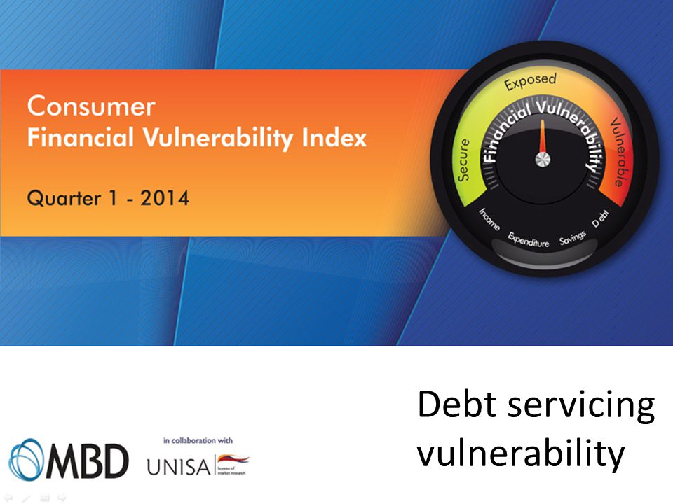 Debt servicing vulnerability