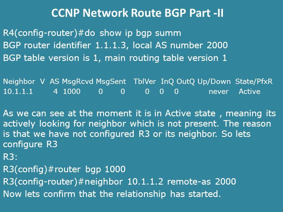 CCNP Network Route BGP Part -II  BGP ROUTE REDISTRIBUTION