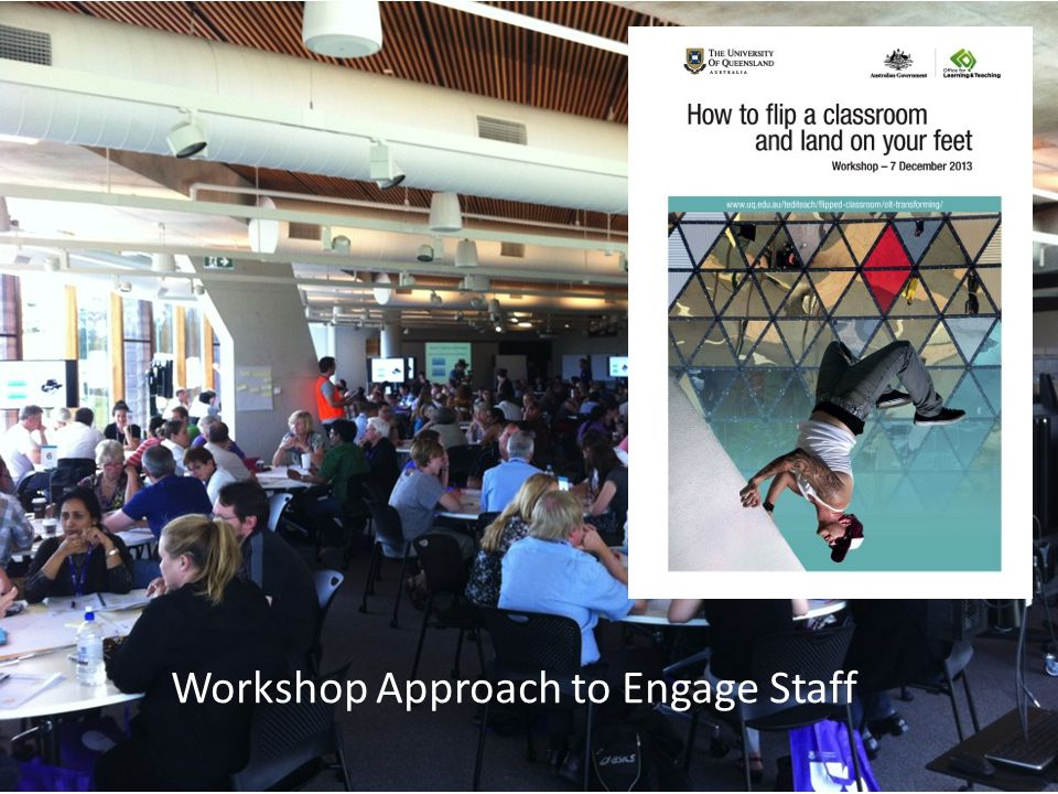 Workshop Approach to Engage Staff