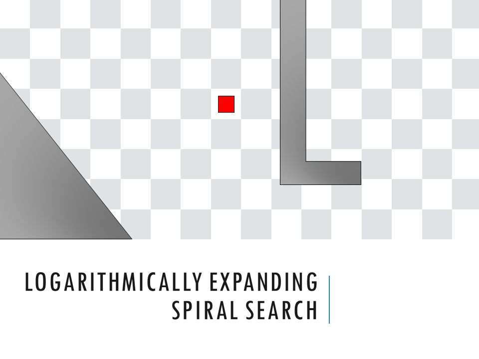 LOGARITHMICALLY EXPANDING SPIRAL SEARCH