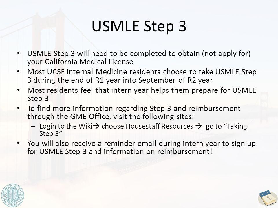 UCSF Internal Medicine Residency Program A Timeline of