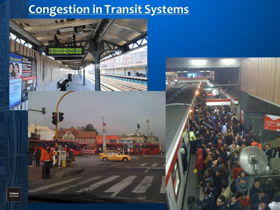 Congestion in Transit Systems