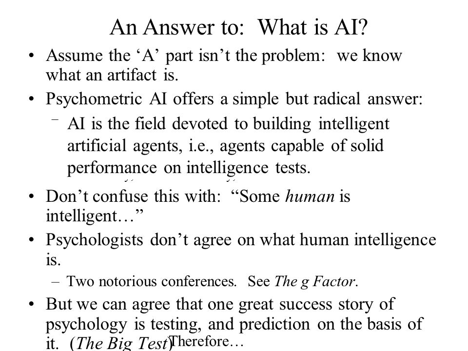 What is Psychometric AI