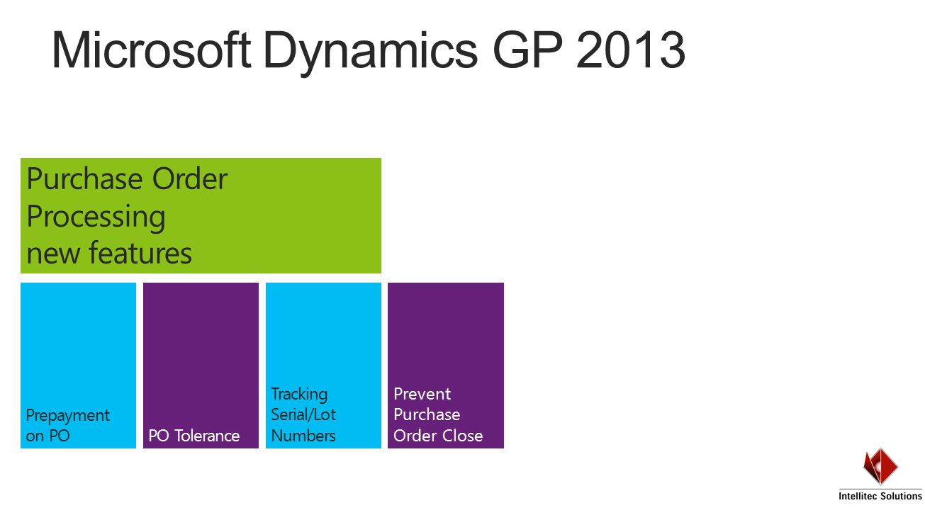 intellitec solutions user group microsoft dynamics gp ppt download