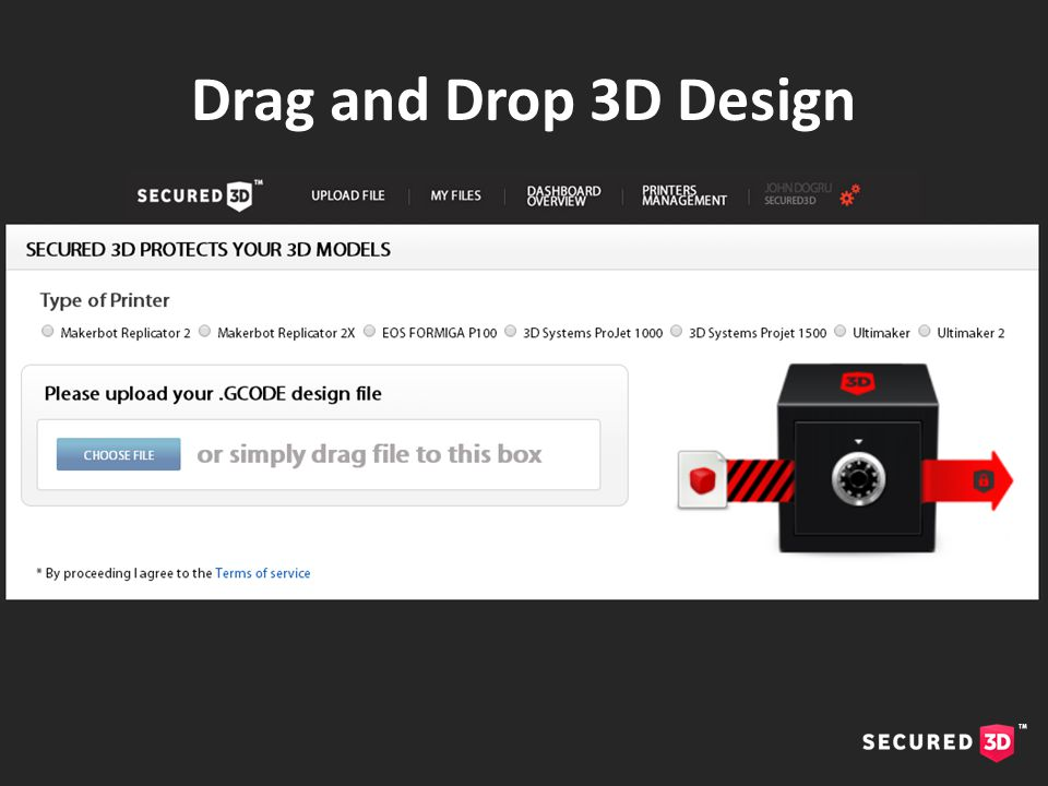 Drag and Drop 3D Design