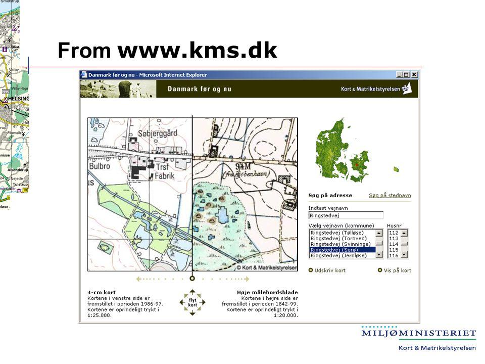 Kort Matrikelstyrelsen Danish National Survey And Cadastre