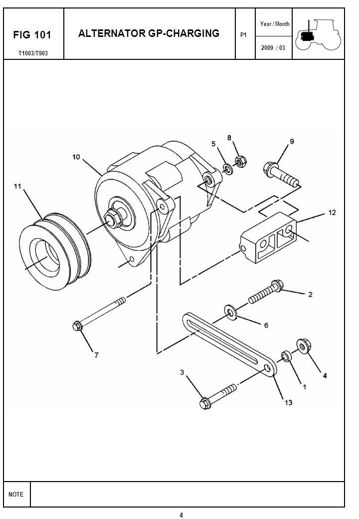 2009 03 Note Year Month T1003t903 Fig 101 Alternator Gp