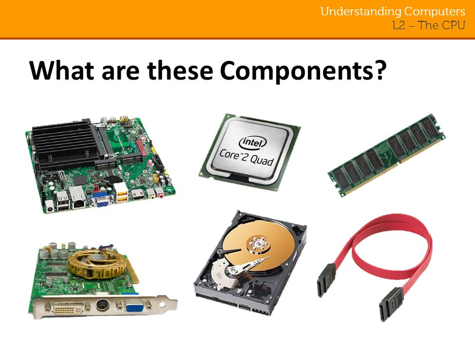 The Central Processing Unit (CPU) Understanding Computers. - ppt ...
