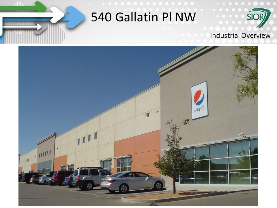 Society of Industrial and Office REALTORS® 540 Gallatin Pl NW Industrial Overview