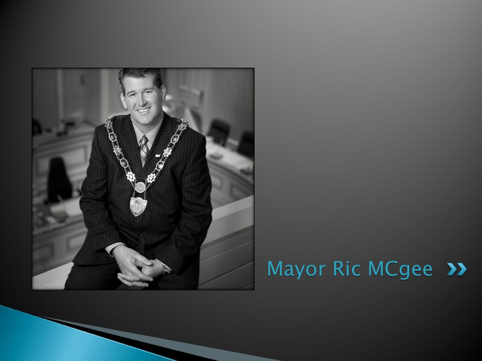 Mayor Ric MCgee