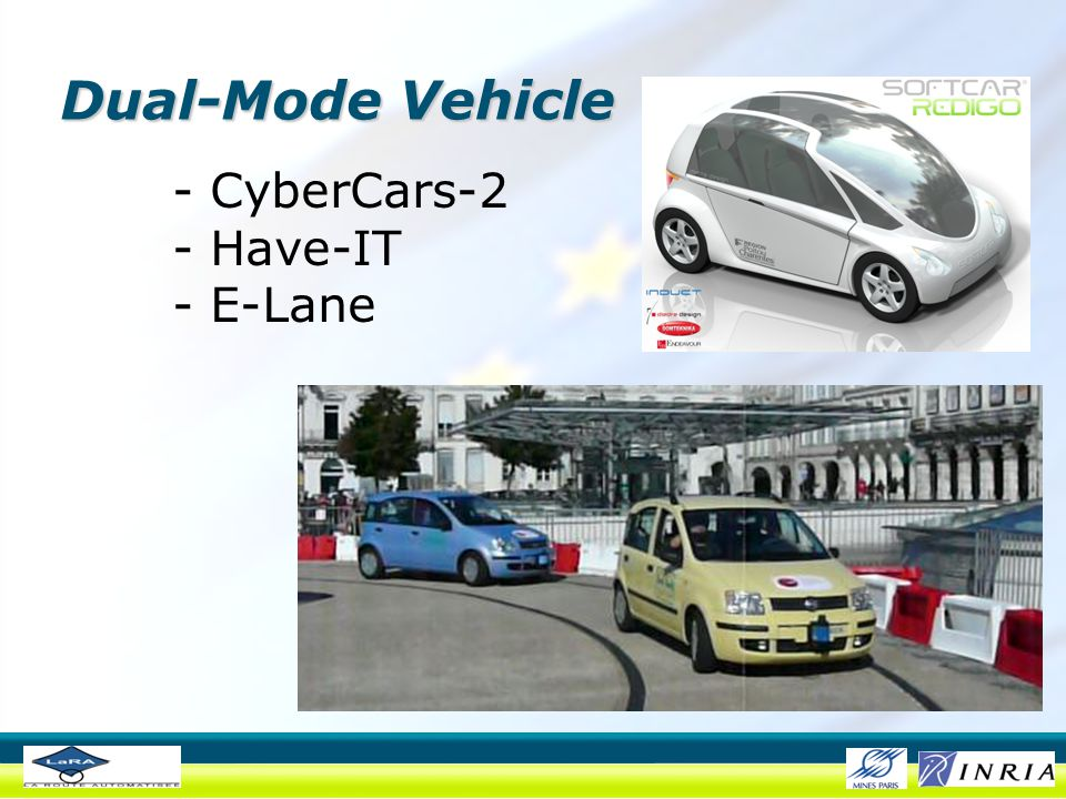 Dual-Mode Vehicle - CyberCars-2 - Have-IT - E-Lane