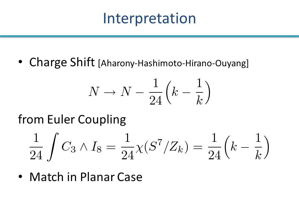 Interpretation Charge Shift [Aharony-Hashimoto-Hirano-Ouyang] from Euler Coupling Match in Planar Case