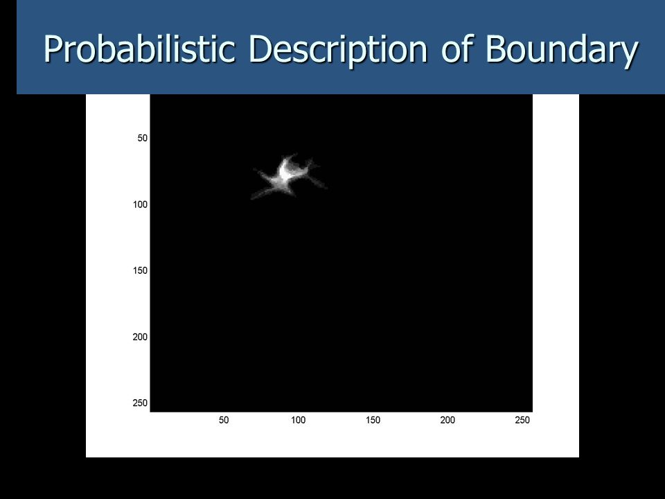 Probabilistic Description of Boundary