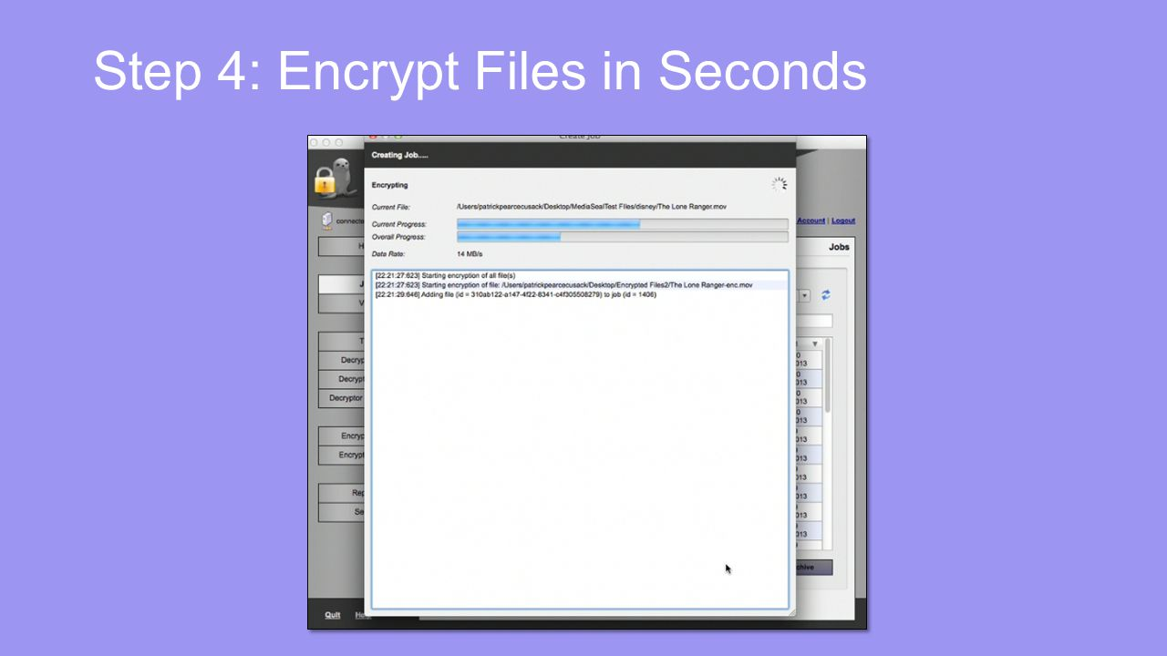 Step 4: Encrypt Files in Seconds