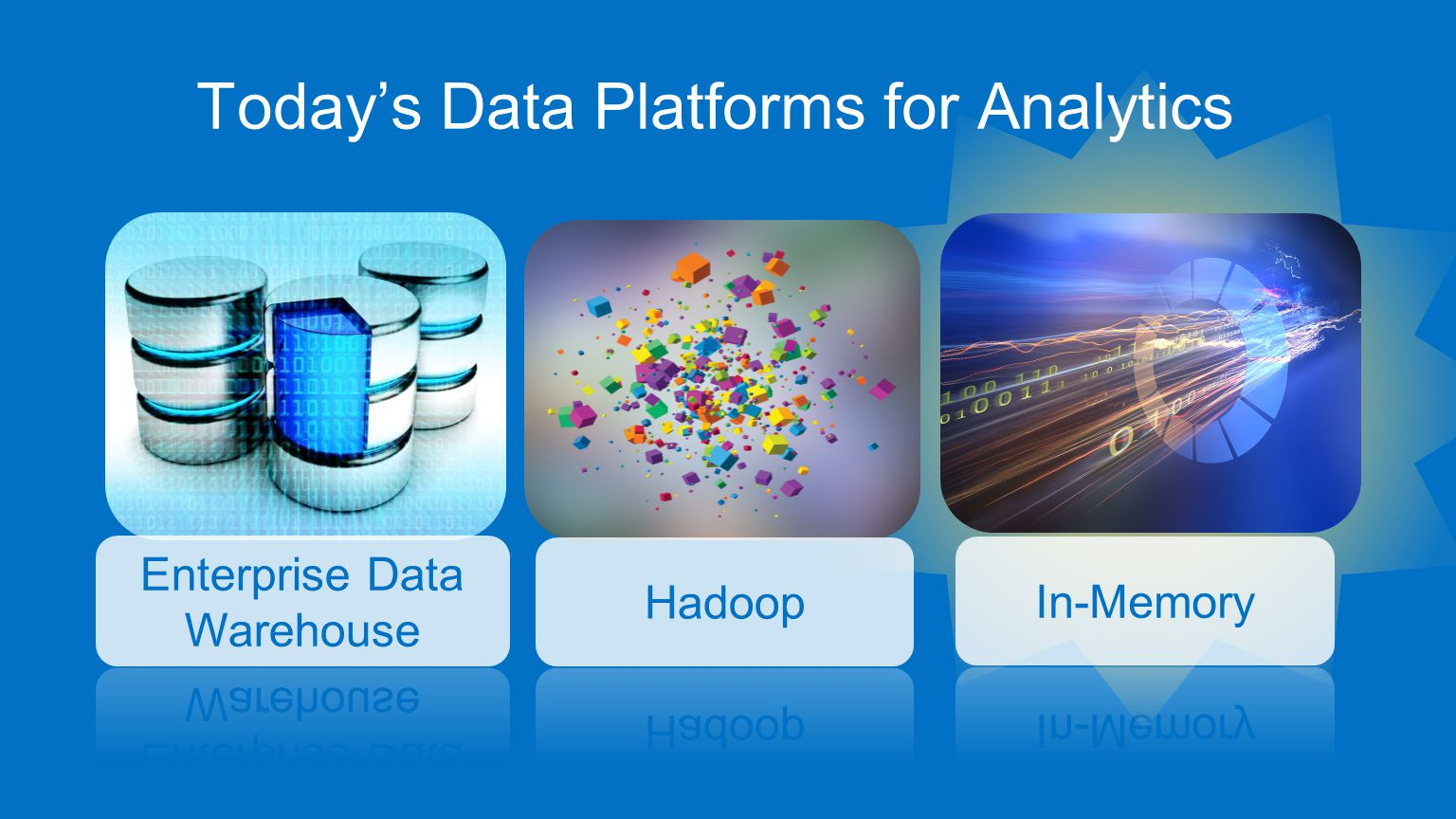 Today's Data Platforms for Analytics -Relationships (Graph)-