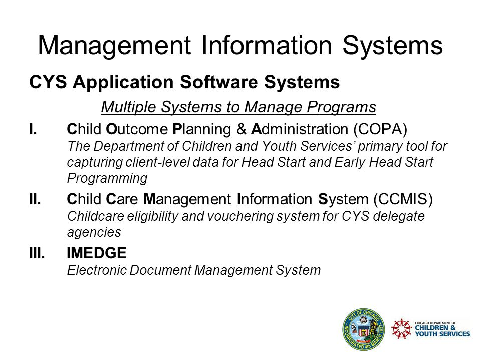 Management Information Systems Management Information Systems (MIS): A system for managing and processing information, usually computer-based.