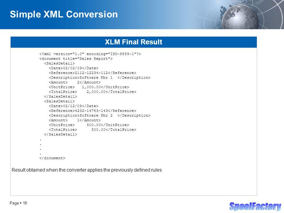 SpoolFactory - Spool Converter Pro Spool Conversion Software