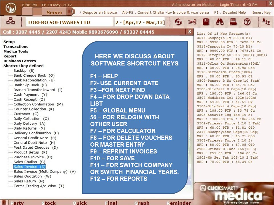 computer shortcut keys ppt