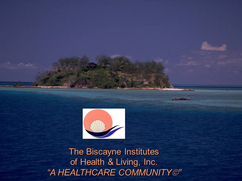 The Biscayne Institutes of Health & Living, Inc. A HEALTHCARE COMMUNITY 