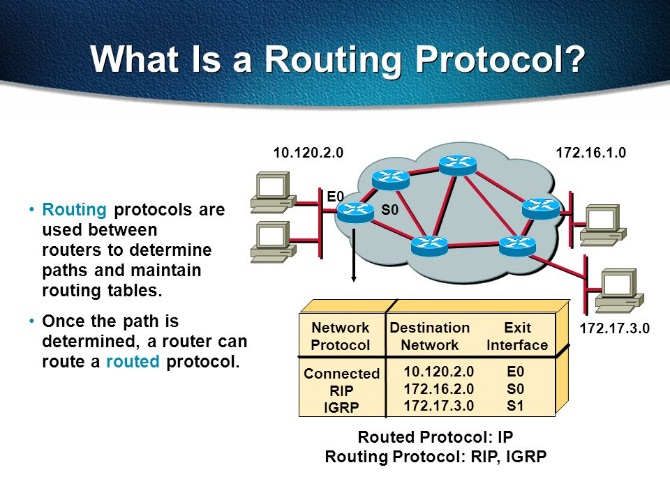 What Is a Routing Protocol.