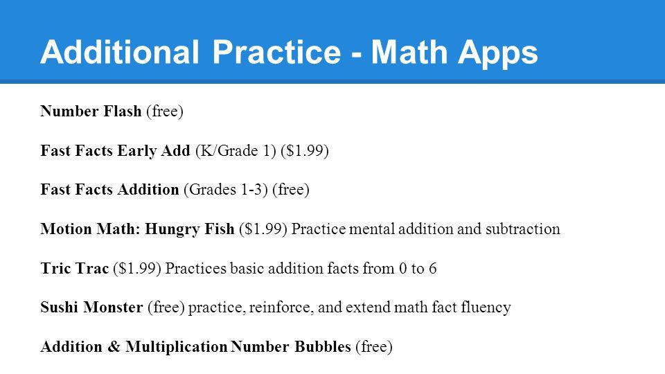 Norwood Summer Math Elementary Math & Technology Deptartments. - ppt ...