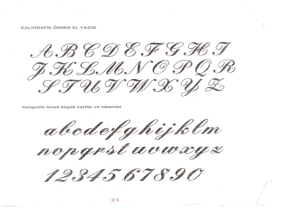 how to write stylish handwriting