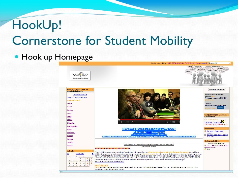 Campus Europae Hook up