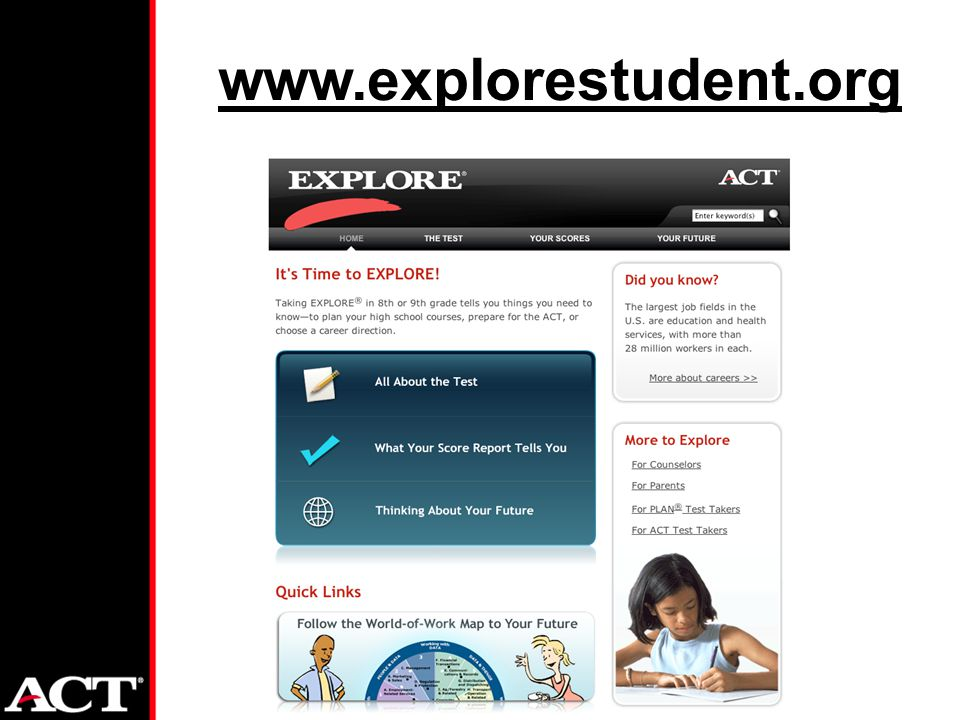 www.explorestudent.org