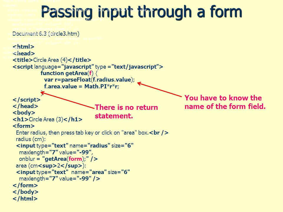 Chapter 6: JavaScript Functions 6 1 The Purpose of Functions 6 2