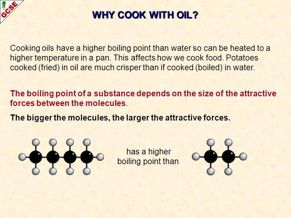 WHY COOK WITH OIL.