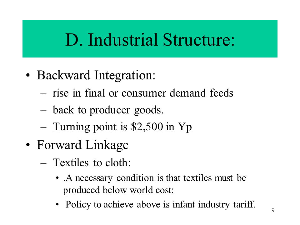 8 Industrialization and Employment 1.