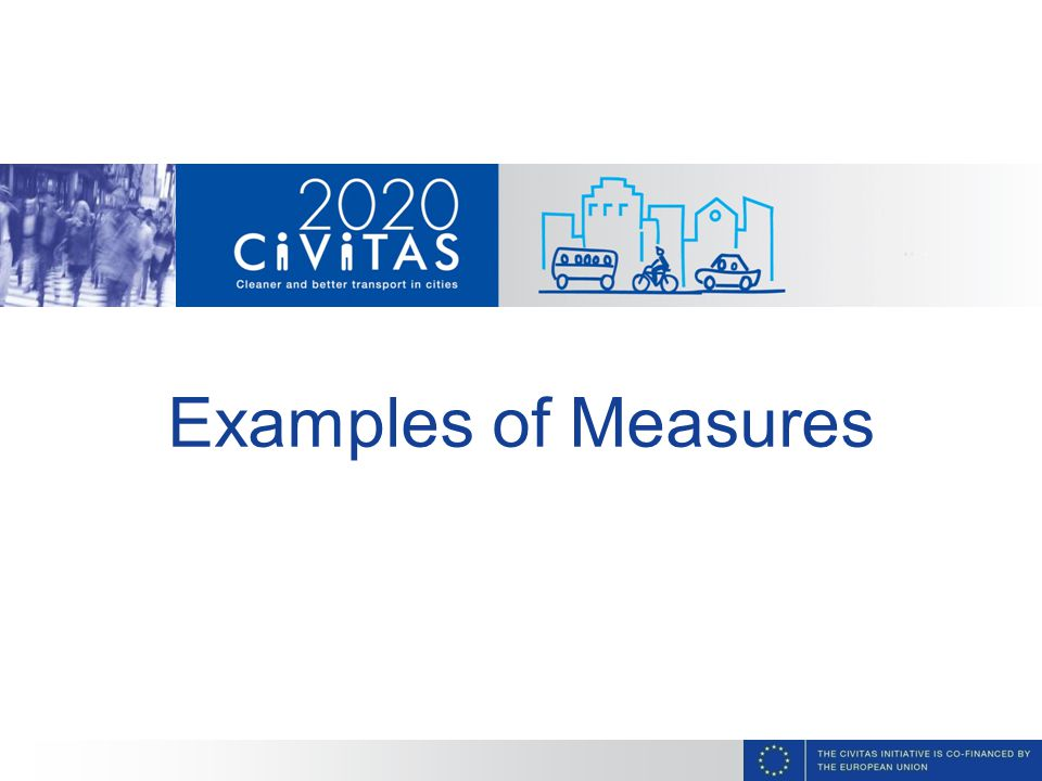 Examples of Measures