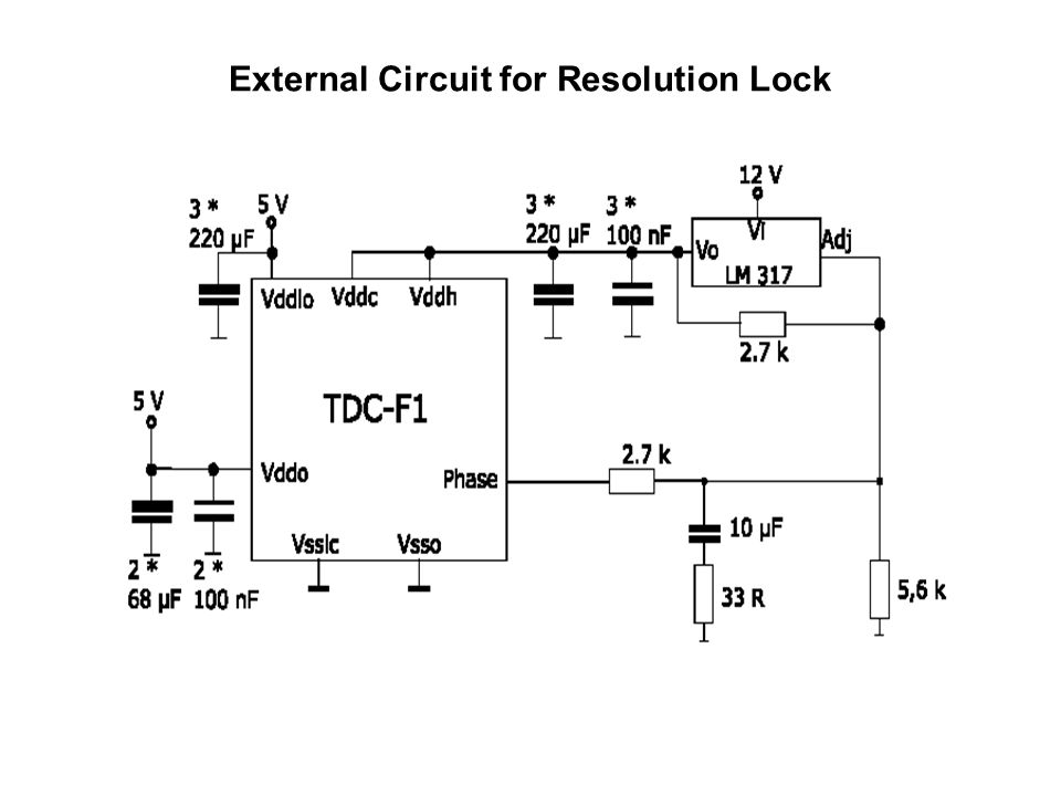 External Circuit for Resolution Lock