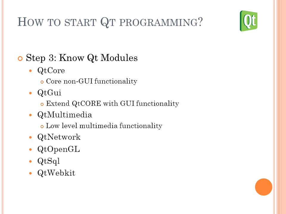 Lecture 4: Embedded Application Framework Qt Tutorial Cheng-Liang