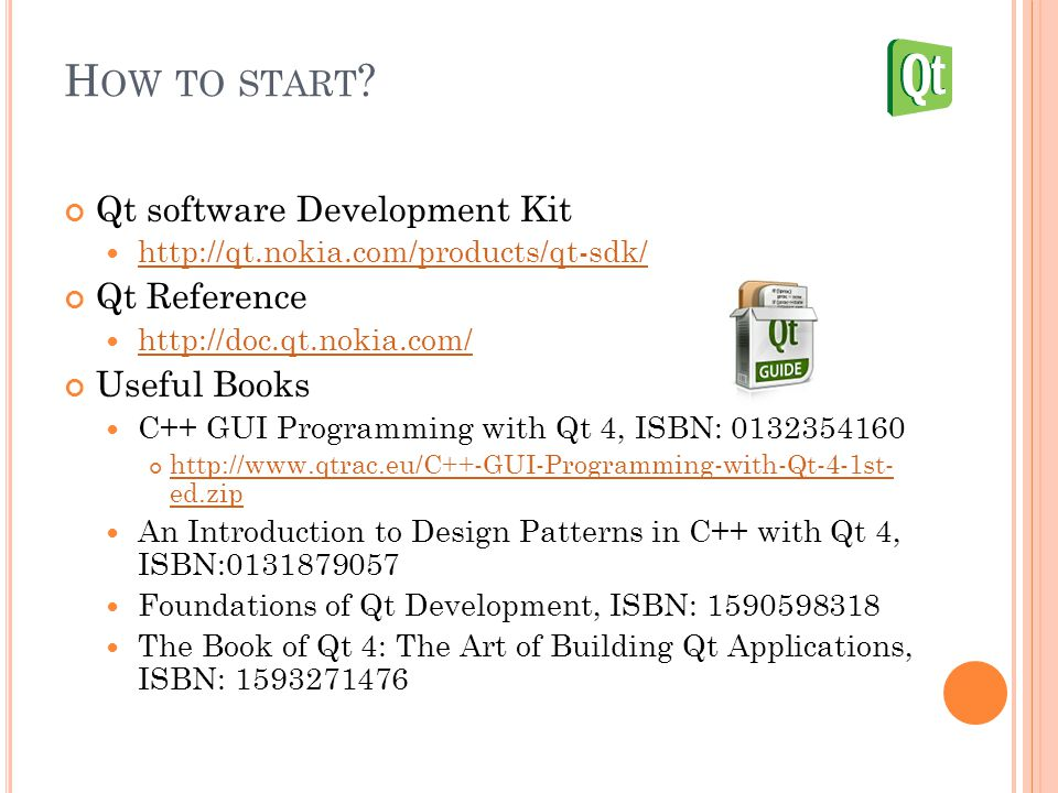 Lecture 4: Embedded Application Framework Qt Tutorial Cheng