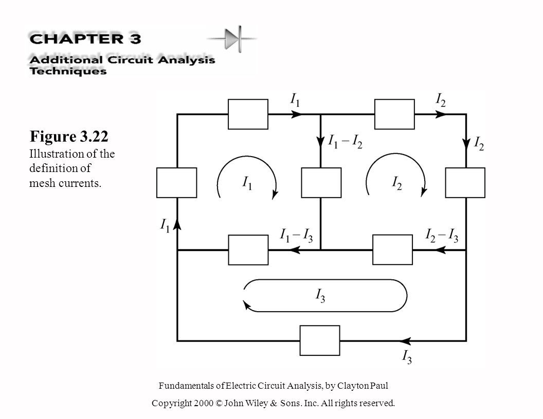 fundamentals of electric circuit analysis, by clayton paul copyright