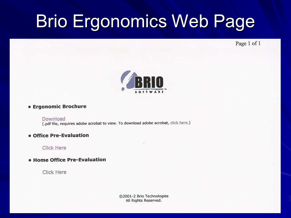 Office Ergonomics From Design To Implementation In Less Than 180