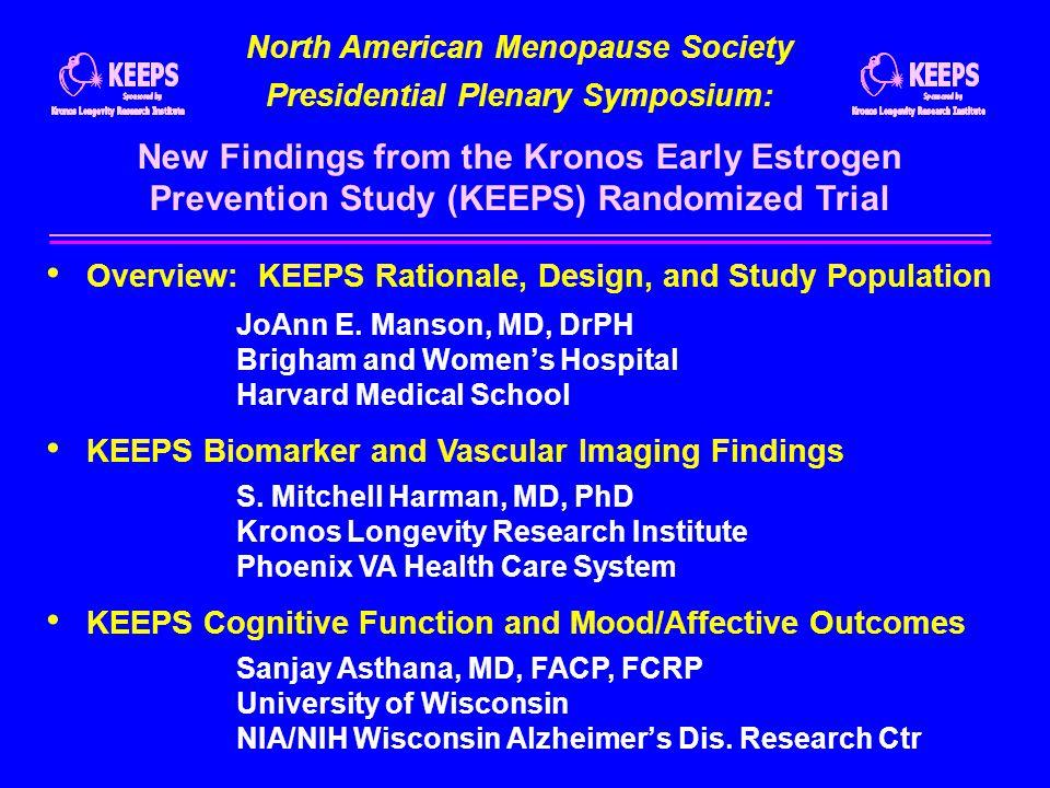 North American Menopause Society Presidential Plenary