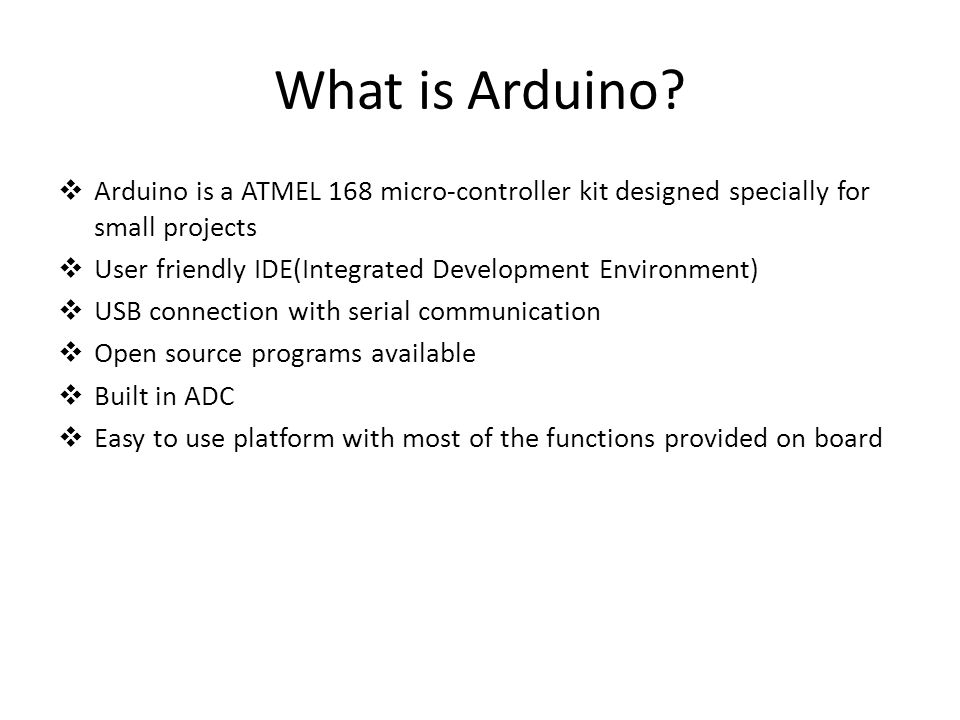 What is Arduino.