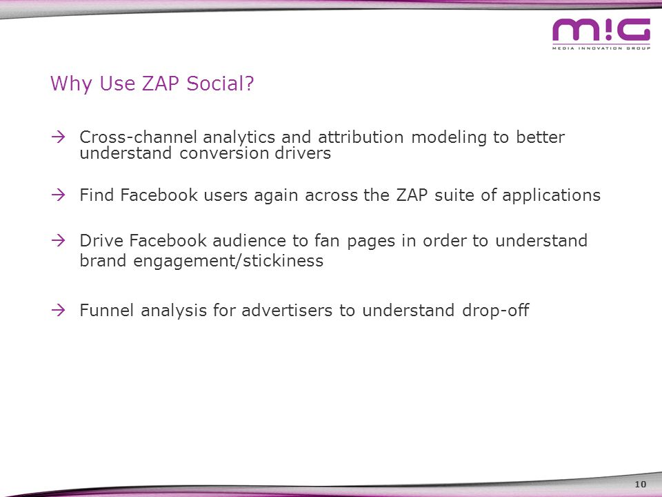 10 Why Use ZAP Social.