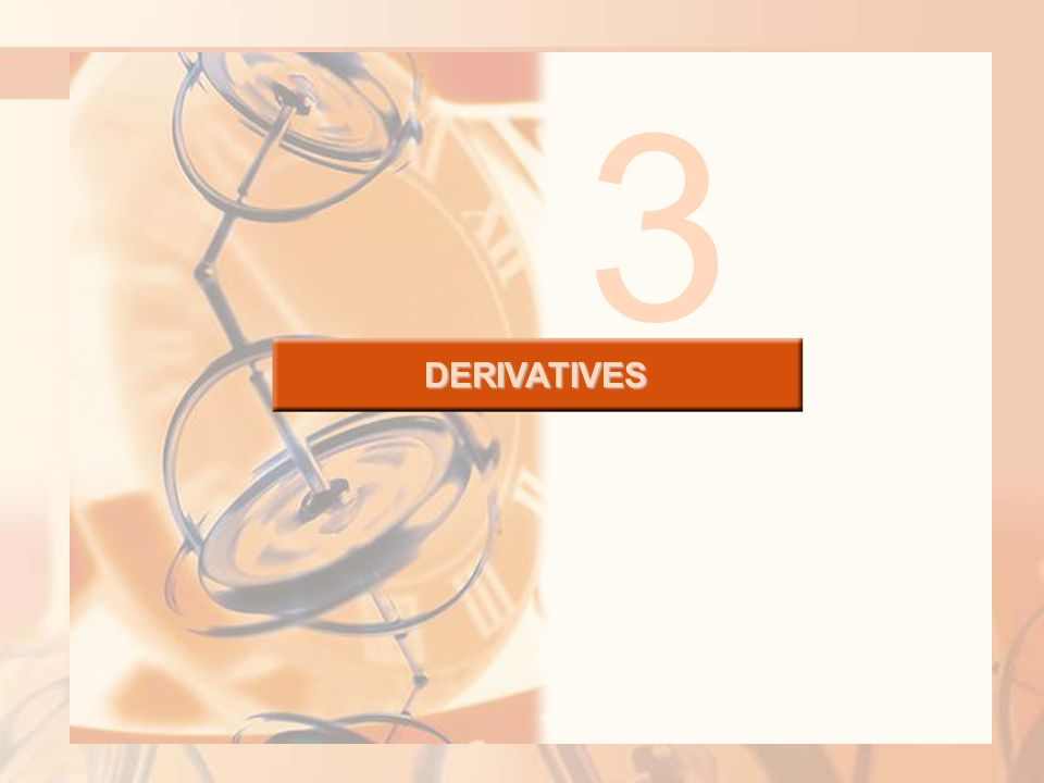 DERIVATIVES 3