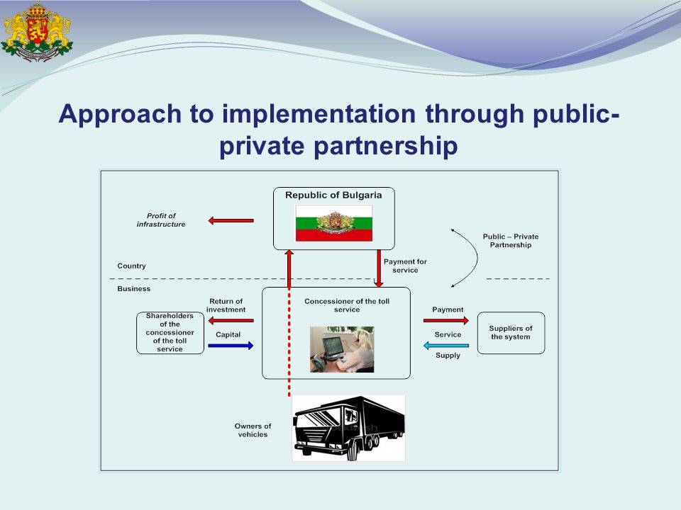 Approach to implementation through public- private partnership